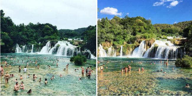Những bể bơi tự nhiên đẹp mê hồn khắp thế giới