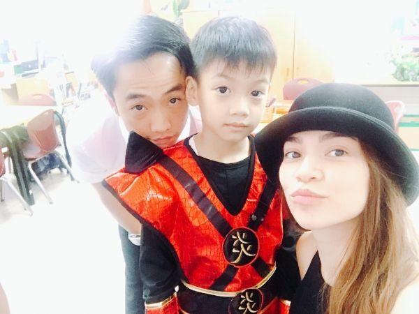 Các nhóc tì nhà sao Việt đã đón Trung thu thế nào?