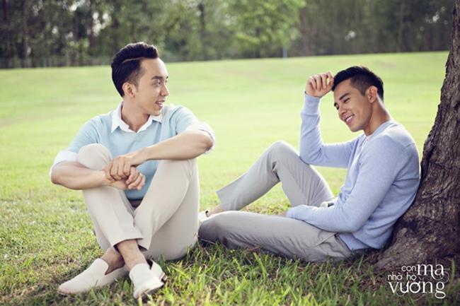 Trước khi cưới soái ca Thái, Hồ Vĩnh Khoa từng cặp kè 2 trai đẹp này