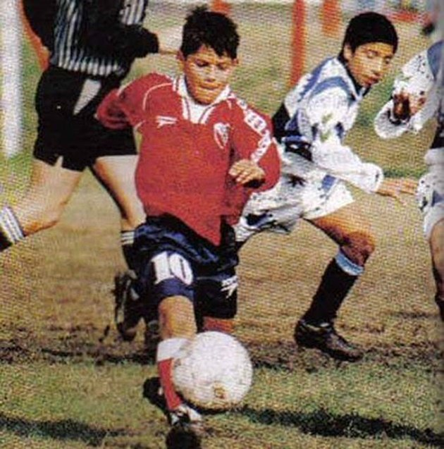 Hành trình tuổi thơ của Sergio Aguero