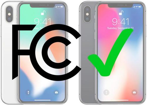 iPhone X mới được nhận giấy phép lưu hành từ FCC