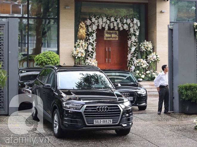 Phong cách trang trí đối lập trong đám cưới của cô dâu Đặng Thu Thảo và dinh thự triệu đô của chú rể Trung Tín
