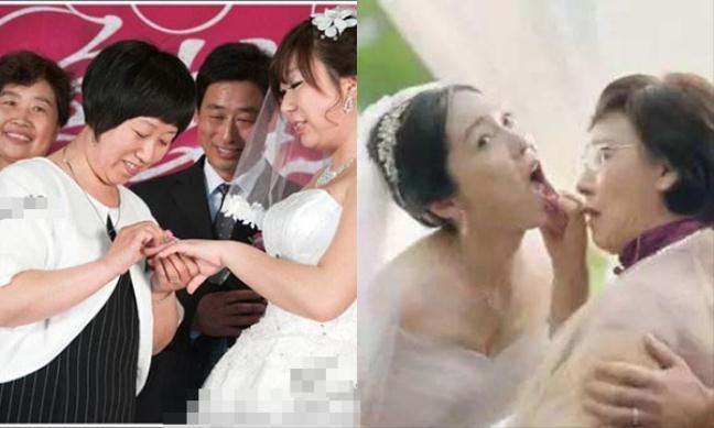 Ngày cưới mẹ chồng lên trao cho cô dâu chiếc nhẫn gia truyền trị giá gần 1 tỷ