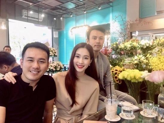 Hoa hậu Đặng Thu Thảo công khai cảm ơn ông tơ đã mai mối cô với Trung Tín