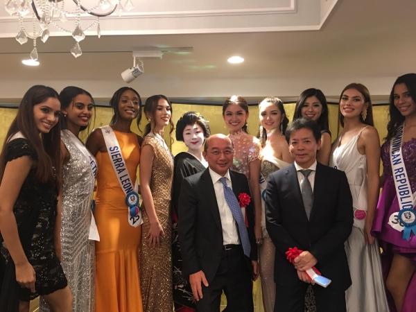 Á hậu Thuỳ Dung khiến fan lo lắng vì bỗng dưng 'mất tích' ở Miss International 2017