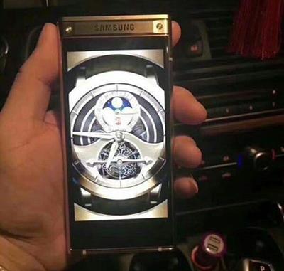 Điện thoại Samsung nắp gập mạnh ngang Galaxy Note8