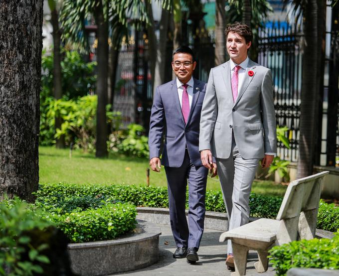 Một ngày ở TP HCM của Thủ tướng Canada - Hình 2