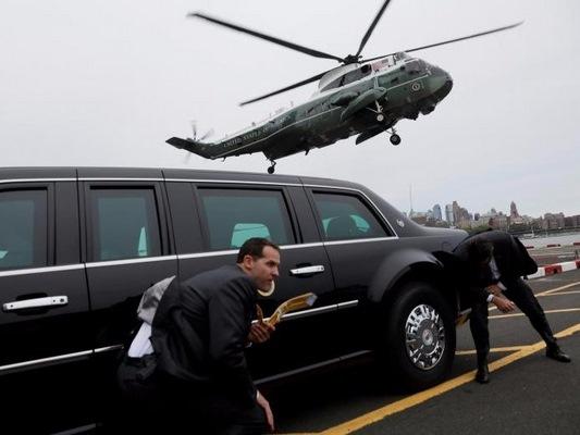 Ông Trump được bảo vệ tầng tầng lớp lớp thế nào khi ở nước ngoài? - Hình 2