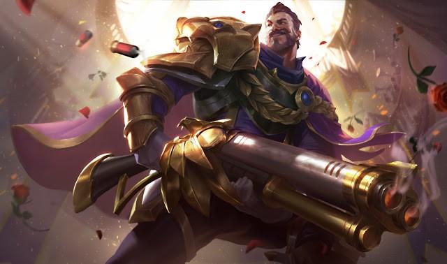 Riot chính thức ra mắt Graves Vinh Quang đẹp nghẹt thở, giảm sức mạnh một số vị tướng