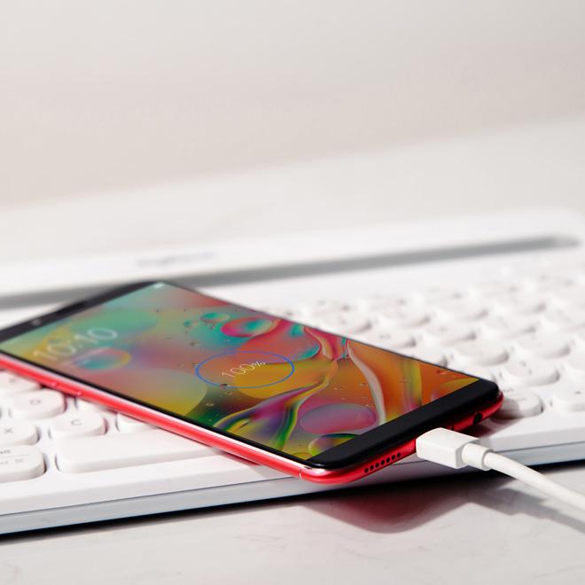 Ngắm Oppo F5 màn hình vô cực bắt mắt