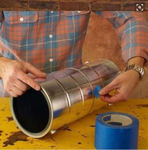 Cách làm đèn ống treo nhà sang chảnh