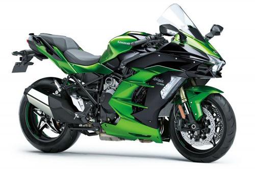 Sport-tourer Kawasaki Ninja H2 SX siêu khủng trình làng
