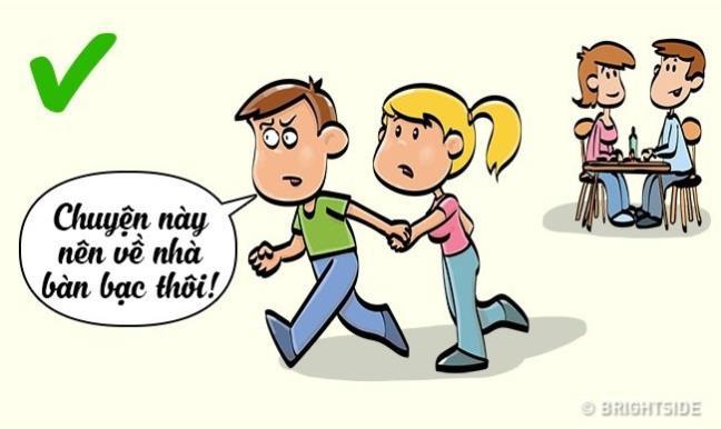 Khi cãi nhau, các cặp đôi tuyệt đối không nên làm những điều này