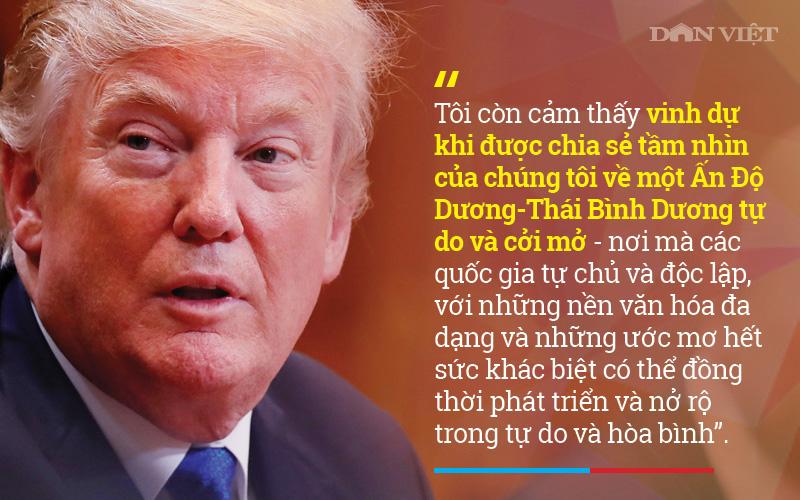 10 phát ngôn đậm phong cách Tổng thống Donald Trump tại Việt Nam