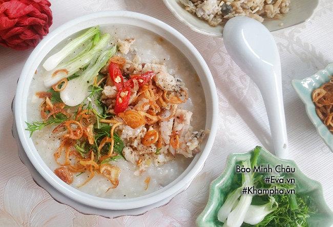 [Chế biến] - Bữa sáng ngon miệng và bổ dưỡng với cháo cá nóng hổi