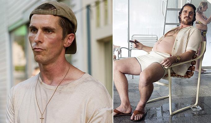 Christian Bale gây sốc với ngoại hình béo mập