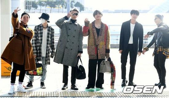 BTS cool ngầu lên đường sang Mỹ dự American Music Awards