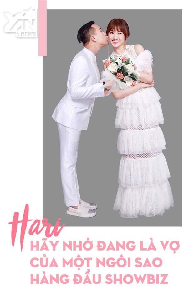 Hari Won hồn nhiên nhưng đừng quên mình đang là vợ Trấn Thành
