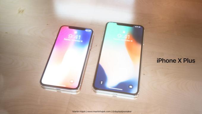 Hình dung về iPhone X Plus