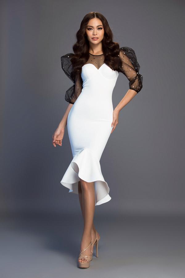 Mâu Thủy chọn váy dạ hội xây dựng hình ảnh theo style hoa hậu
