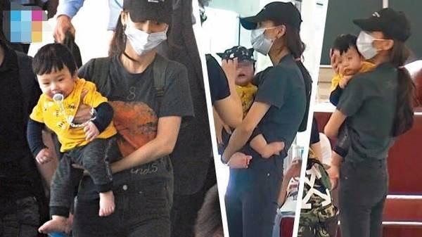 [Nóng] Diện mạo con trai Huỳnh Hiểu Minh - Angelababy lần đầu tiên được hé lộ