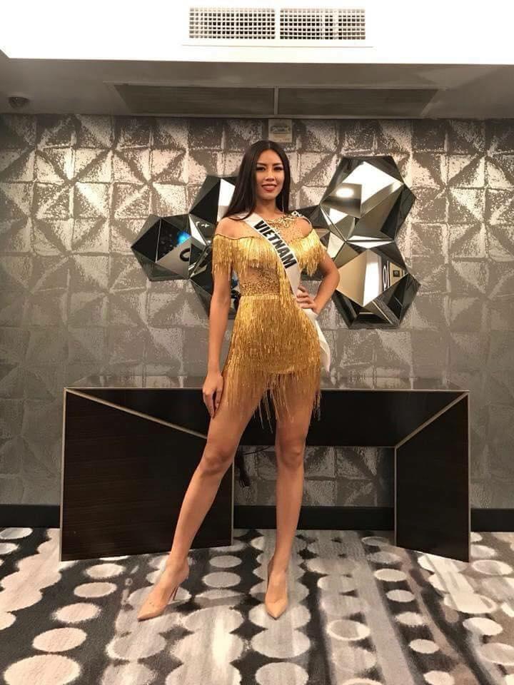 Nguyễn Loan diện chiếc váy này, ai cũng nhớ đến Phạm Hương năm ấy tại Miss Universe