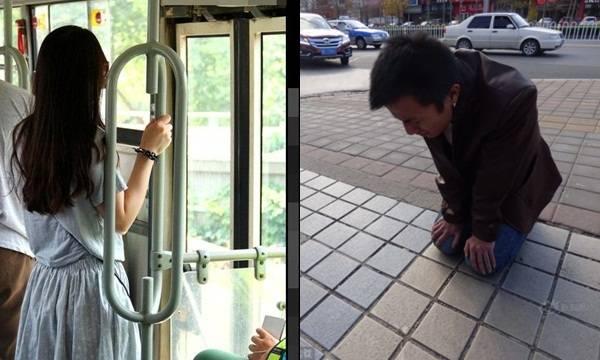 Gặp lại bạn gái cũ trên xe bus, chàng trai không nhường ghế mà còn bóp vòng 1 của cô