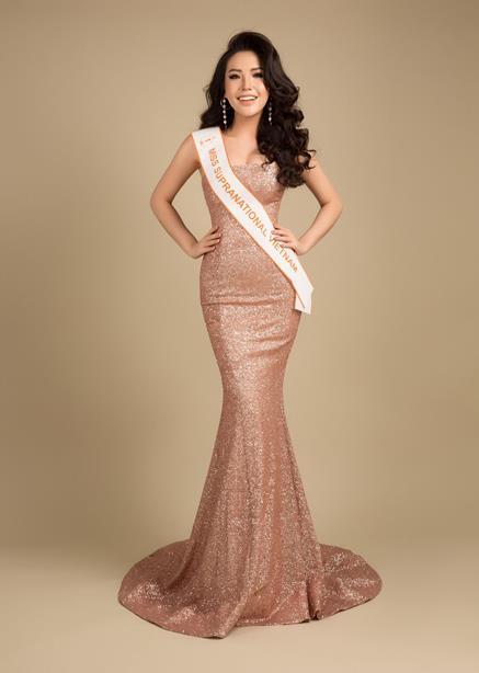 Á hậu Việt có vòng ba 1 mét sẽ dự thi Hoa hậu Siêu quốc gia - Hình 1