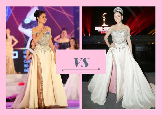Tân Hoa hậu Đại dương đụng váy với Ngọc Trinh, ai đẹp hơn ai?