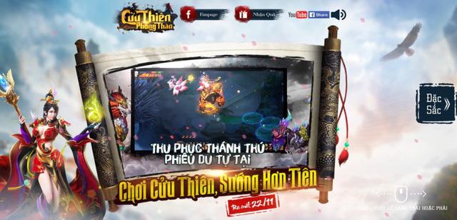 Cửu Thiên Phong Thần tung teaser, mở cửa tại Việt Nam ngày 22/11