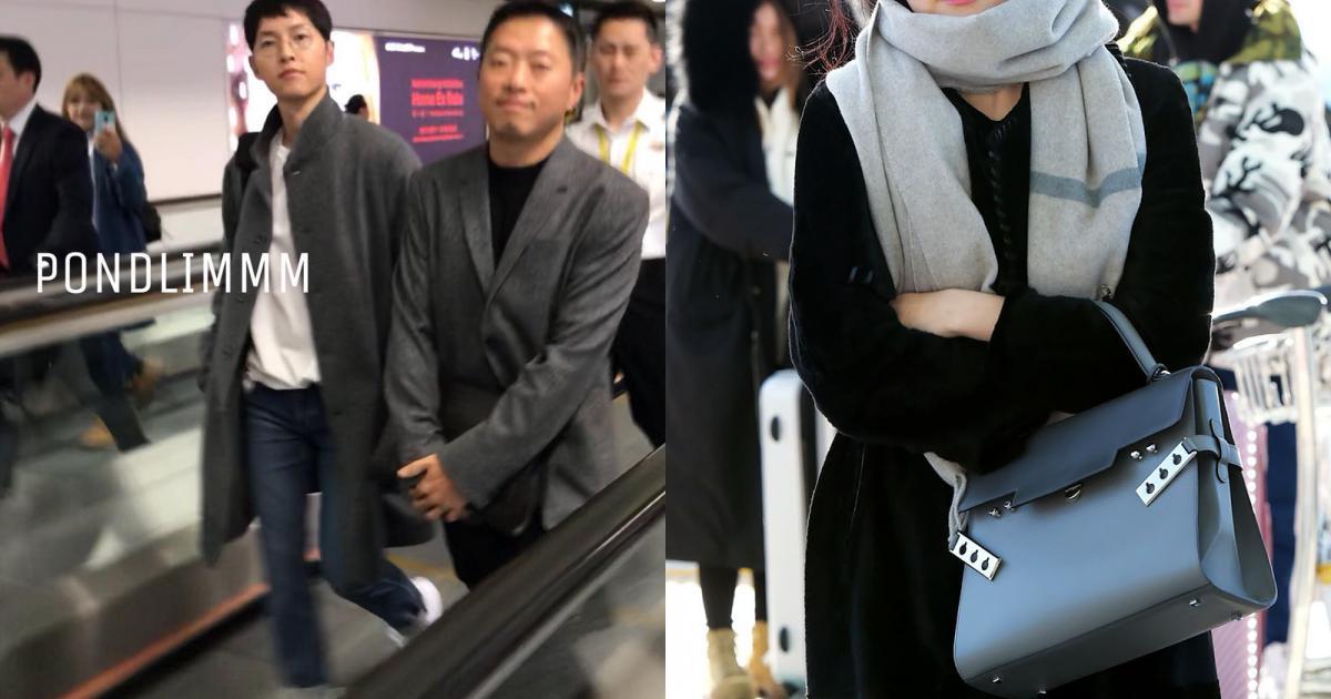 Sân bay MAMA Hồng Kông: Song Joong Ki tiều tụy bất ngờ, bà hoàng Lee Young Ae, EXO cùng dàn siêu sao đổ bộ
