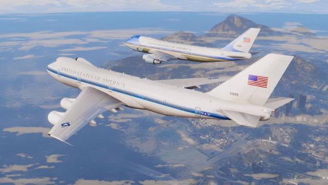 Tổng thống Mỹ mang theo cả phi đội máy bay khi công du - Hình 2