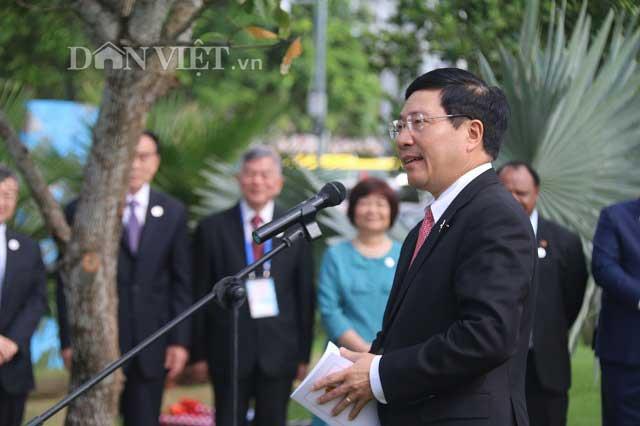 APEC Việt Nam: Khai trương vườn tượng 21 nền kinh tế APEC - Hình 1