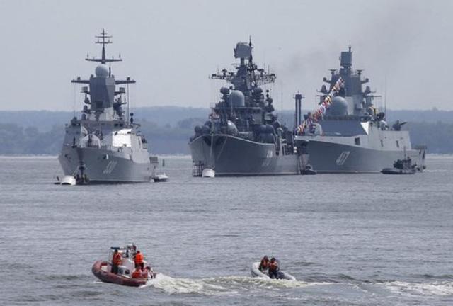 Hạm đội Baltic của Nga tập trận bất thường - Hình 1