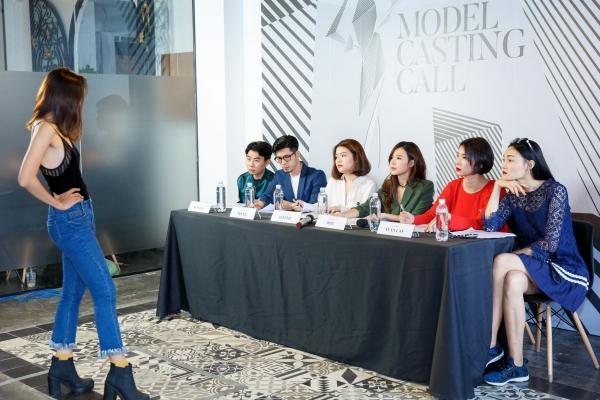 Midu trực tiếp casting 200 người mẫu cho show thời trang tại phố đi bộ Nguyễn Huệ - Hình 2