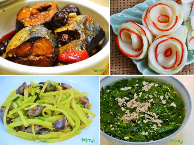 No căng bụng với thực đơn ngon, rẻ lại nhiều dinh dưỡng