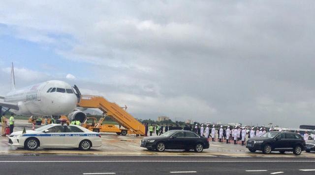 Sân bay Đà Nẵng nhộn nhịp các chuyến chuyên cơ về dự APEC - Hình 2