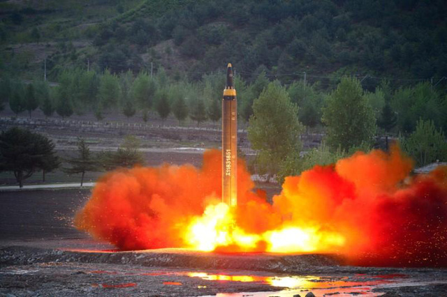 Triều Tiên cảnh báo Mỹ không mắc sai lầm nghiêm trọng - Hình 1