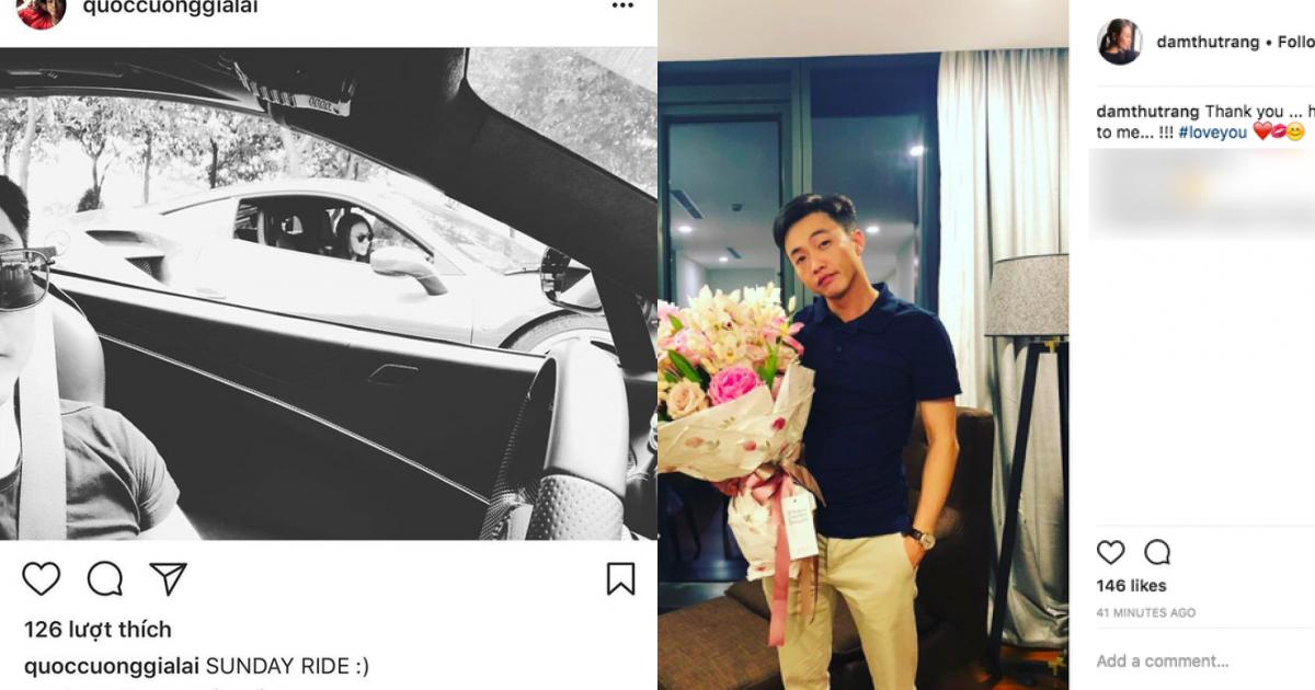 """Sau Cường Đô la, Đàm Thu Trang ngọt ngào công khai nói """"Yêu anh"""""""