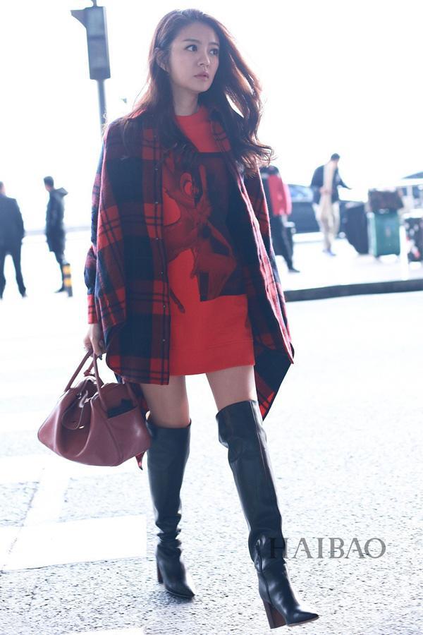 Thì ra dù trời lạnh, sao Hoa ngữ vẫn khoe chân dài miên man là nhờ bí kíp này!