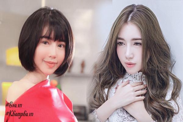 Thực tế phải công nhận, nhìn Ngọc Trinh và Elly Trần xuống tóc, là chị em muốn đổi kiểu liền!