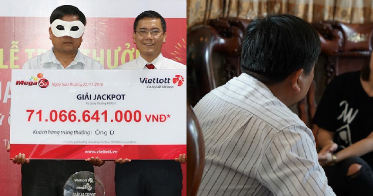 Cuộc sống của người thợ hàn sau 1 năm trúng hơn 71 tỷ Vietlott