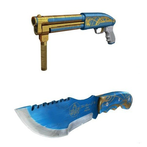 Đột Kích: Cận cảnh bộ sưu tập vũ khí mới có tên Knight Blue ở server Trung Quốc