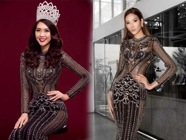 Váy áo không thiếu nhưng sao Việt cứ tranh nhau mặc mãi vài kiểu đầm này