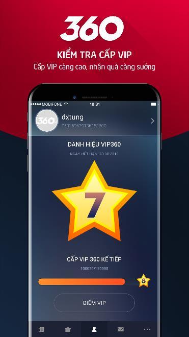 Tải app VIP 360 - Cổng hỗ trợ khách hàng trực tuyến dành cho game thủ VNG - Hình 2