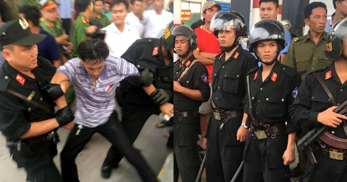 Ai có quyền điều cảnh sát cơ động đến BOT Cai Lậy?