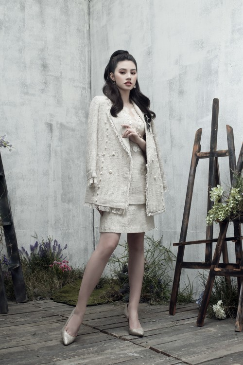Hoa hậu Hội con nhà giàu Việt - Jolie Nguyễn gợi ý chọn váy đi tiệc xinh yêu ngày cuối năm