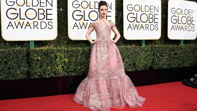 10 bộ đầm giúp sao Hollywood ghi dấu ấn trên thảm đỏ 2017 - Hình 4