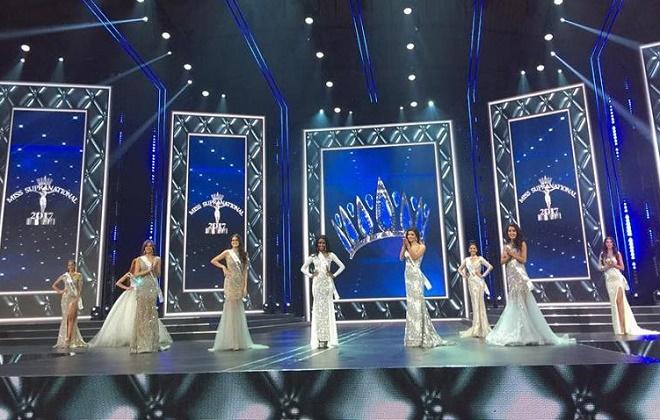 Á hậu Việt có vòng ba 1 mét lọt top 25 Hoa hậu Siêu quốc gia