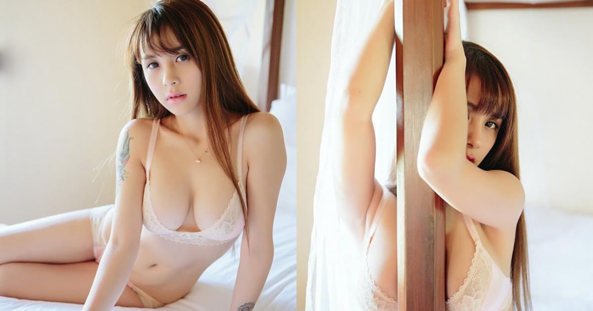Hot girl 18 tuổi Bảo Trân với bikini màu nude siêu nóng bỏng
